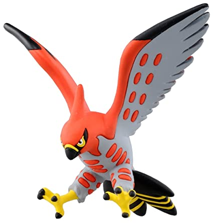 Amazon Com Takaratomy Official Pokemon X And Y Mc 050 2 Talonflame