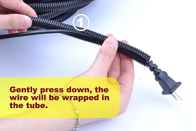pranovo - Cable protector para perros y gatos de 30 pies ...