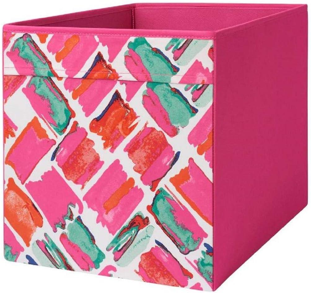 IKEA Drona - Caja, diseño multicolor, 33 x 38 x 33 cm, color rosa: Amazon.es: Bricolaje y herramientas
