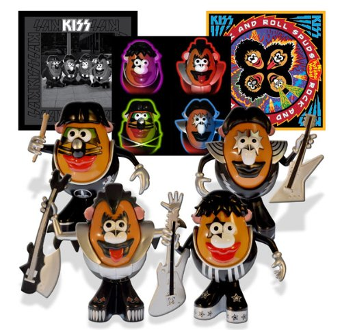 [2011 Kiss Potato Heads Set] (Mr Potato Head Costumes For Adults)