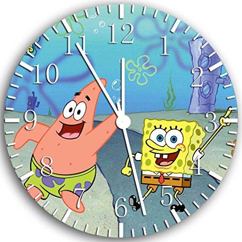 "New Spongebob Squarepants Wall Clock 10"" Will Be Nice Gift and Room Wall Decor Z65"