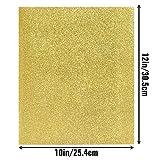 Heat Transfer Vinyl Glitter Silver and Gold HTV