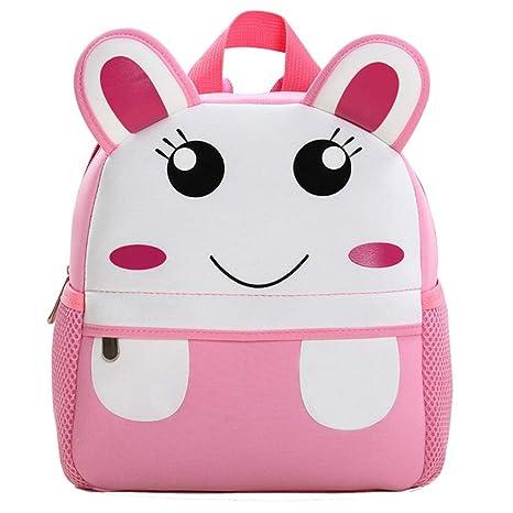 Little Kids Backpack Children School Bags Cute Animals Packs Preschool Bags  for Boys Girls 1-3 Years Old (Rabbit) 85cd9006d678f