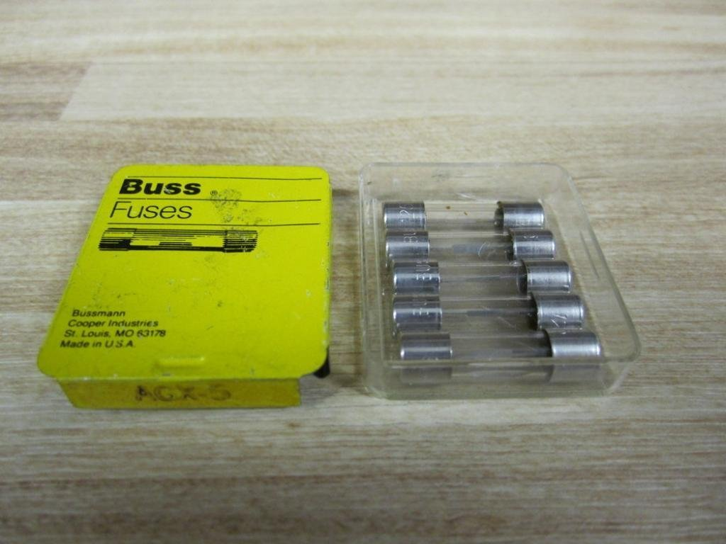~NEW~ 5 fuses AGX-2 Fuses Littelfuse 2Amp Fast Acting Compare To Bussman Buss