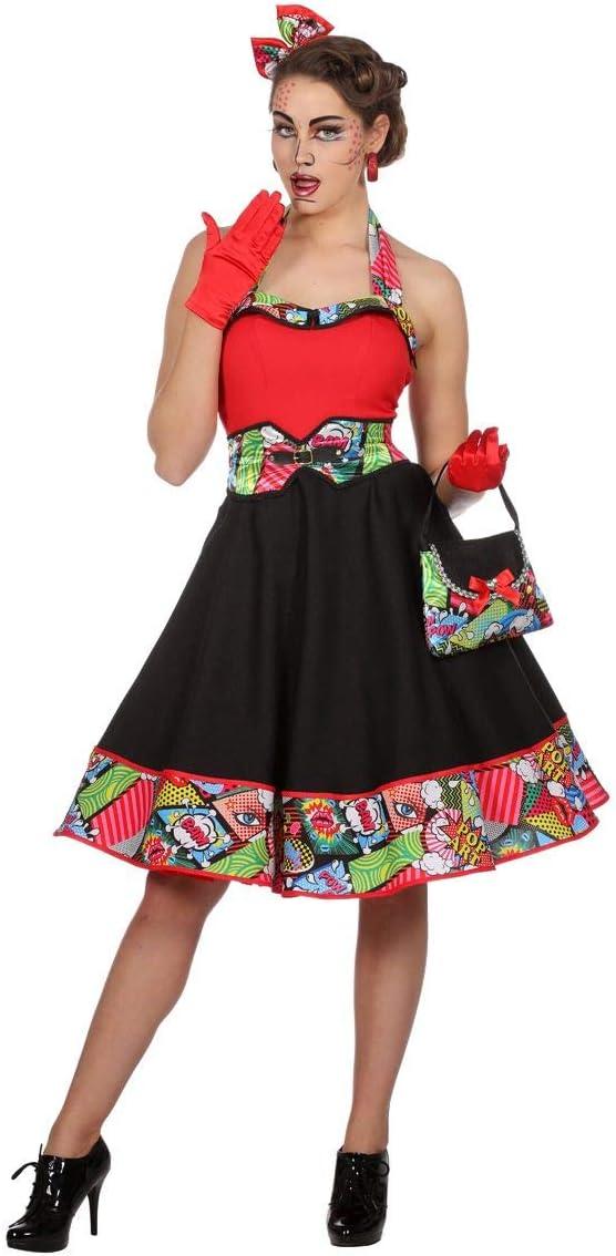 Wilbers Disfraz de Jenny Pop Art para Mujer: Amazon.es: Juguetes y ...