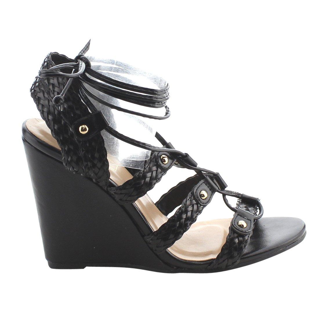 Yoki 9 Women's Donya-218 Platform B071CFBXJ6 9 Yoki B(M) US|Black 904c27