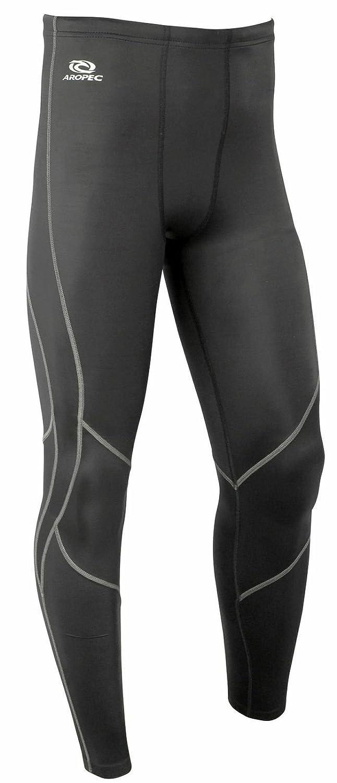 メンズAropec圧縮トライアスロン水泳サイクリングランニングタイツパンツBottoms (XL)   B00EV1NALK