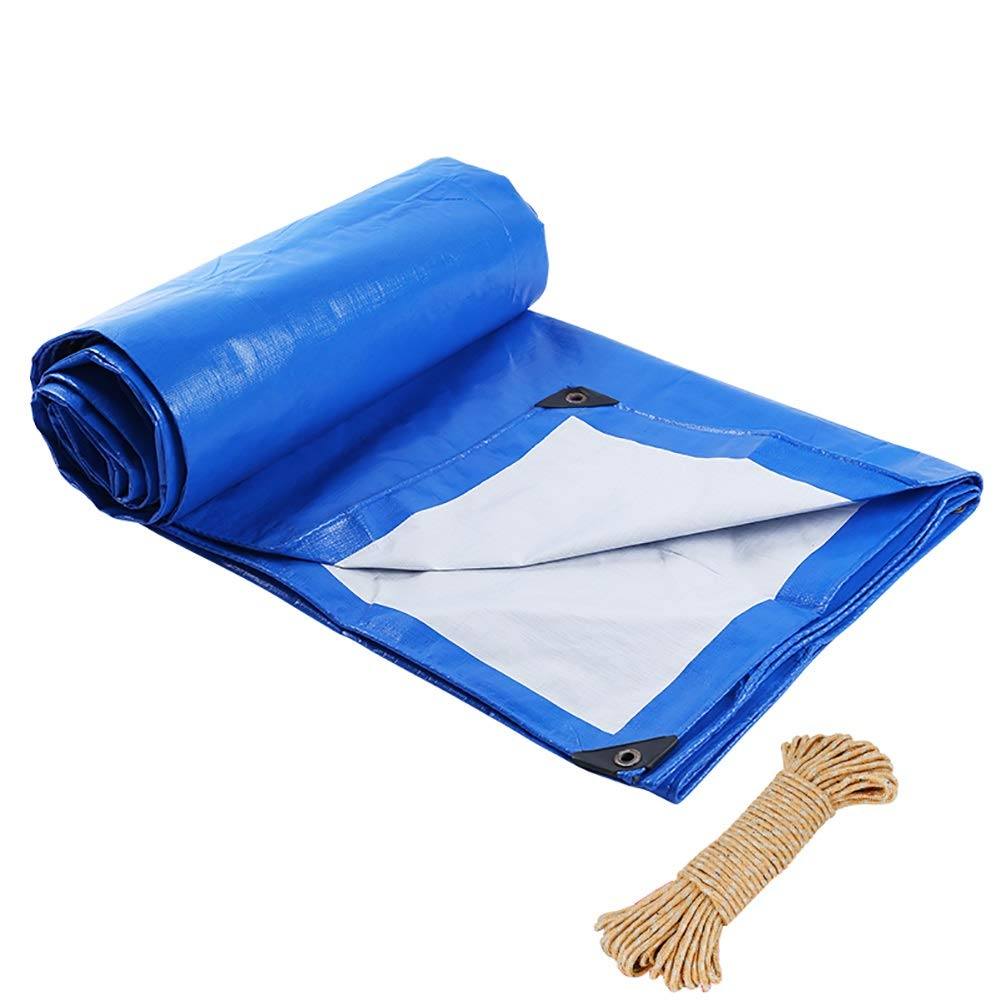 最高の品質の タープ サンプロテクション防水プラスチックターポリンティック - プレミアムクオリティカバー160g/平方メートルターポリン :、ブルー B07JKWZJD3 (色 : サイズ A, サイズ さいず : 5MX5M) 5MX5M A B07JKWZJD3, ニラサキシ:a9eb6cf2 --- ciadaterra.com