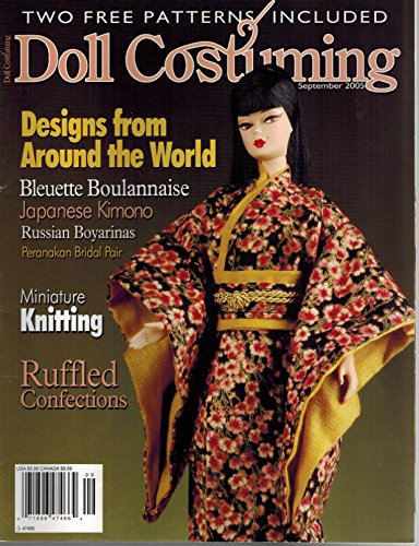 Doll Costuming Magazine - Doll Costuming (September 2005, Volume 5, Number 5)
