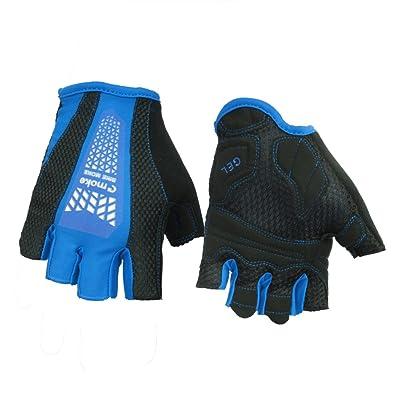 1paire de demi de doigt Gants d'haltérophilie pour entraînement de Fitness à Crossfit Fitness Power Lifting de cyclisme de hankyky