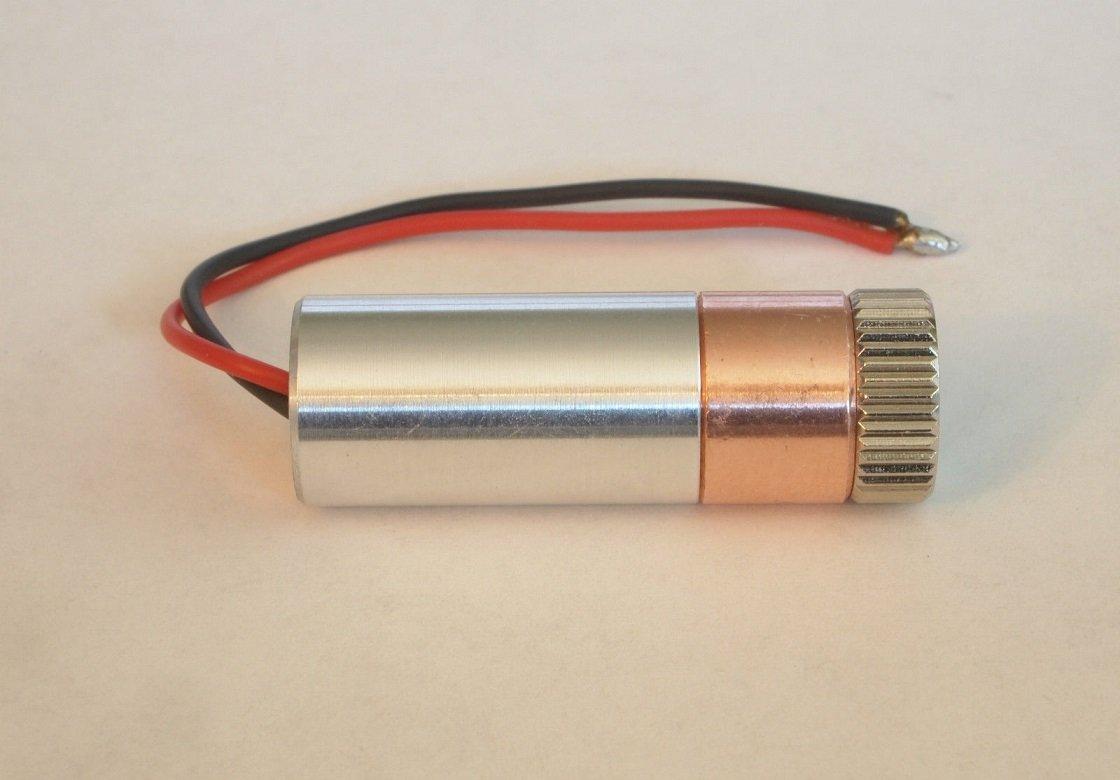 2W Copper 445nm M140 Blue Diode LD Module W/X-Drive & 405-G-2 Glass Lens