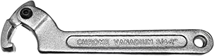 19-51mm Larcele C Chiave a Settore,Chiave Regolabile Laterale YYBS-01 Testa Quadrata,3//4-2