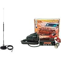 SADELTA EXPLORER-27 Kit- Antena Base magnetica MiniMag-27 Emisora CB 27 MHz Canales 40 Am/FM