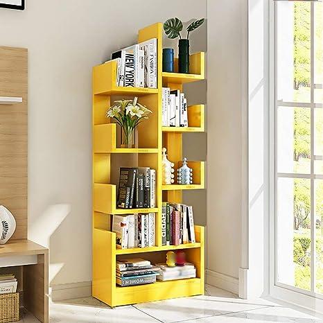 Scaffali Libreria Economici.Qixian Scaffale Organizzatore Per Libri Libreria Scaffale
