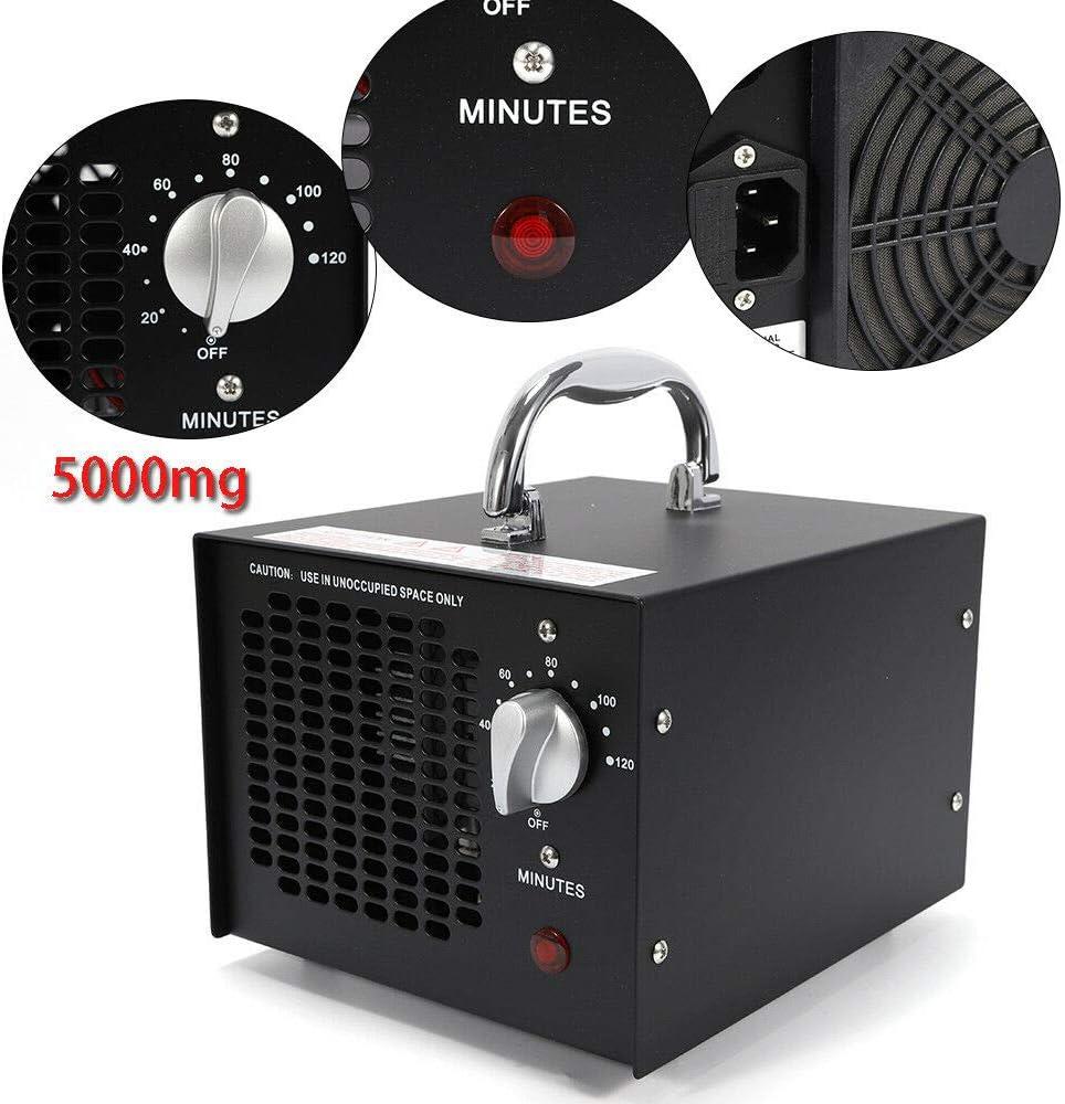 MOMOJA Generador de ozono Comercial 5000mg / h Desodorante y ...