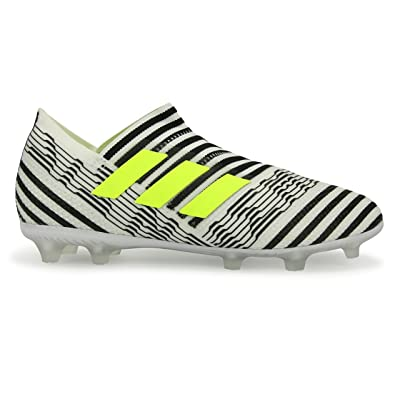 ADIDAS KIDS NEMEZIZ MESSI 17+ FG WHITE/SOLAR YELLOW/CORE BLACK Shoes