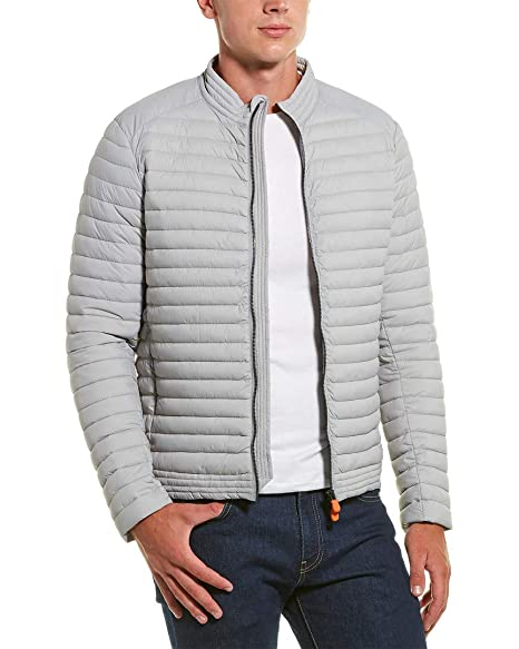 Amazon.com: Save The Duck - Chaqueta acolchada para hombre ...