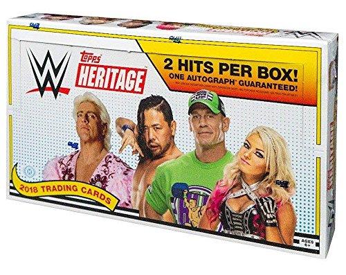 Box Hobby Wrestling (2018 Topps WWE Heritage Wrestling HOBBY box (24 pk))