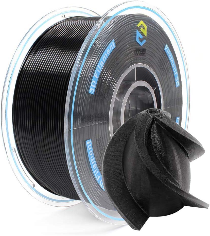YOYI Filamento PETG 1.75 mm Azul Precisi/ón dimensional +//- 0.02 mm Impresora 3D Filamento PETG Filament 1.75 mm 1 kg Carrete