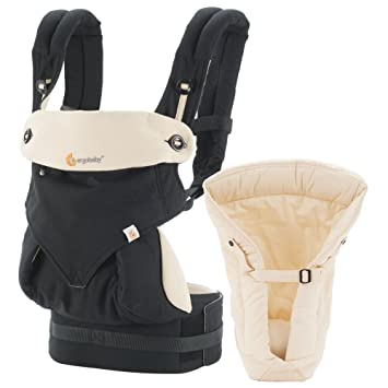 e98f27e9809 Amazon.com   Ergobaby Four Position 360 Bundle of Joy Baby Carrier Black  Camel   Baby