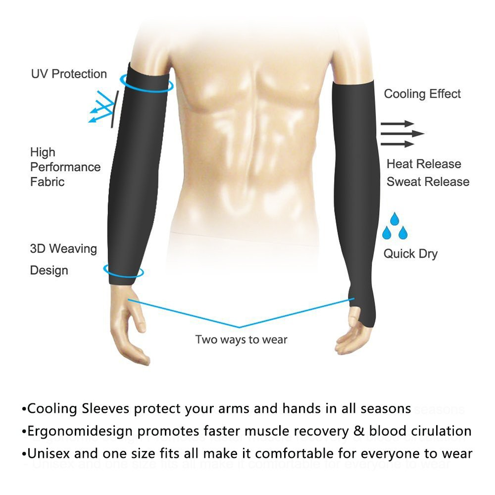 Fashion style How wear to long arm compression sleeves for girls