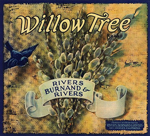 Willow Tree Brand - Los Angeles, California - Citrus Crate Label