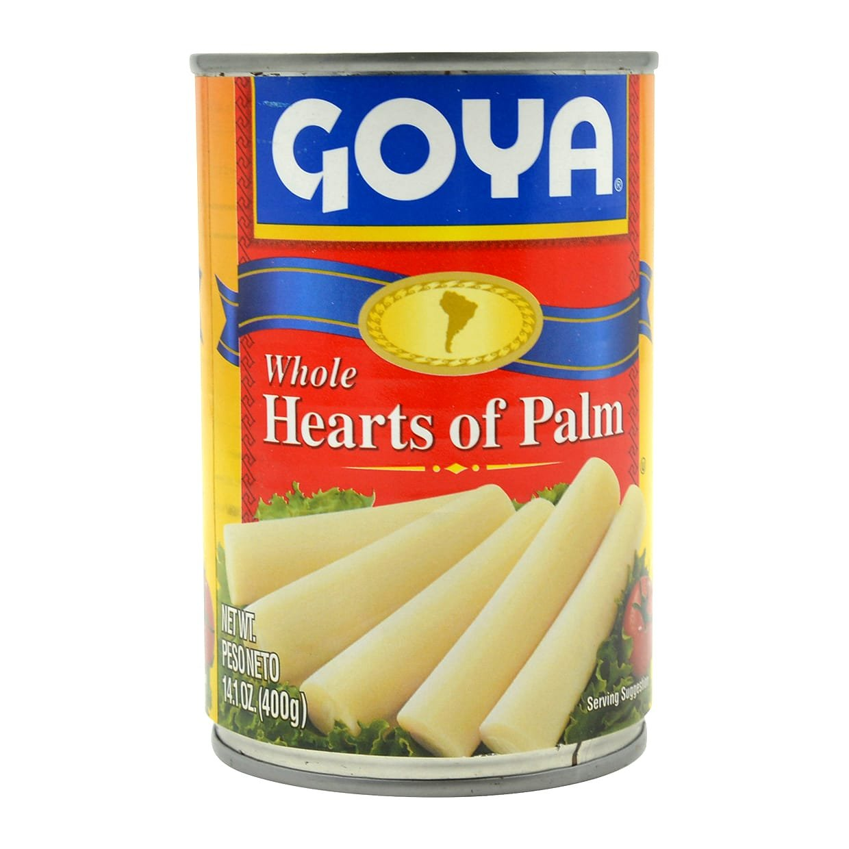 Goya Whole Hearts Of Palm, 14.1-Ounce Unit (Pack of 6): Amazon.com: Grocery & Gourmet Food