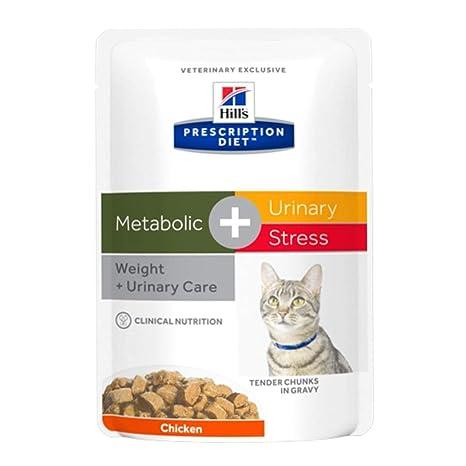 Hills PD Feline metabolic comida húmeda para gatos (bolsitas)