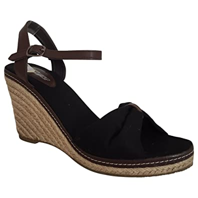 f4528443b78015 City Walk Sandalette Keilsandalette Wedges Schwarz Größe 41  Amazon ...