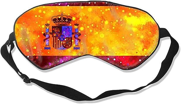 Sleep Eye Mask,Bandera De España Bandera Estrellada Divertidas ...