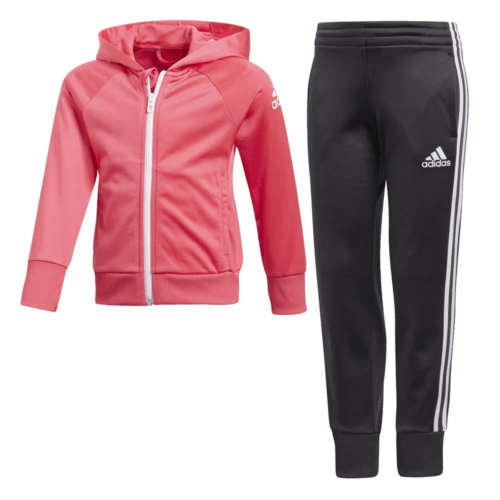 adidas Mädchen Knit Trainingsanzug DJ1529