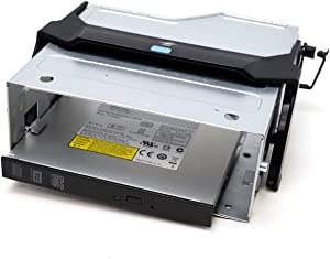 Genuine OEM Dell Precision Optical Drive and Media Bay Cage Assembly 1B23LY600 Sled Tray Caddy T7600 7610 T3600 3610 T5600 Tower Desktop Slimline DVD+/-RW 8X 12.7T SATA DVD+/-RW Data Only