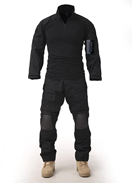 62f6d2c7 ZAPT Combat Gen3 Tactical Uniform Men Military Shirt and Pants with Knee  Elbow Pads for Airsoft