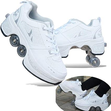 MLyzhe Deformation Roller Shoes Male