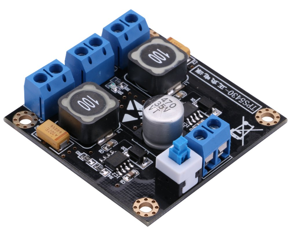 Yeeco Lm317 Lm337 Linear Adjustable Power Supply Dc Using Lm 317 Electronic Circuits And Diagram 3 30v To 125 Variable Volt Buck Converter Step Down Voltage Regulator