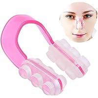 Glamza Silicone Neus Shaper - Voor een slankere, dunnere neusbrug - Roze Neus Straightener Lifter Tool