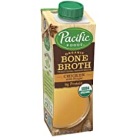 Organic Chicken Bone Broth with Ginger, 8 oz (Pack of 12) - 1