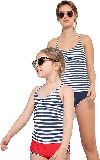 Girls Tank Top Board Short Swim Set 2 PC
