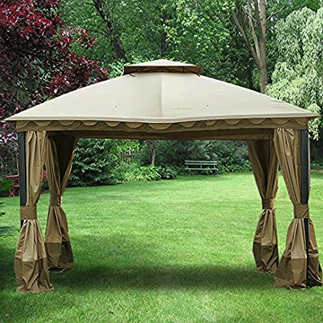 Marine Domed Gazebo Replacement Canopy - RipLock 350 & Amazon.com : Marine Domed Gazebo Replacement Canopy - RipLock 350 ...