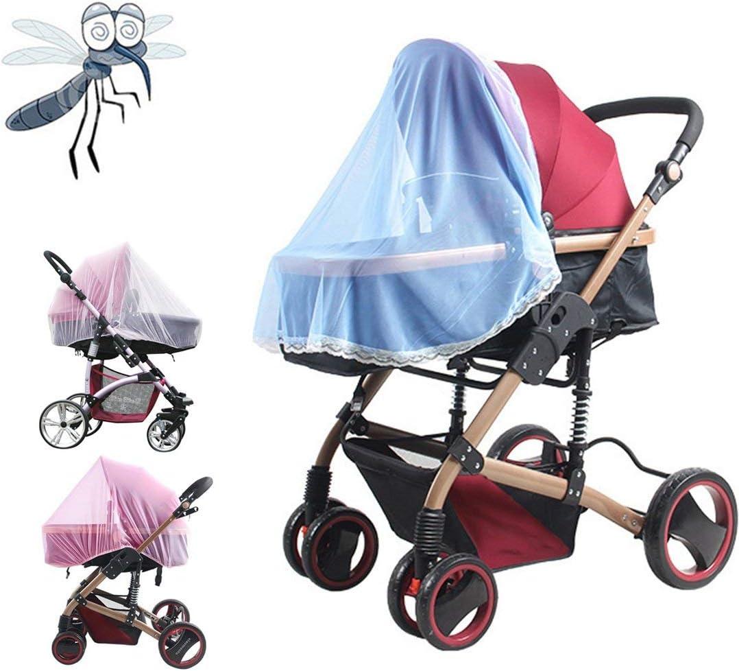 1 Pc Chaude Plein Plein Air B/éb/é Infantile Enfants Poussette Poussette Moustique Insecte Net Maille Buggy Couverture B/éb/é Moustiquaire