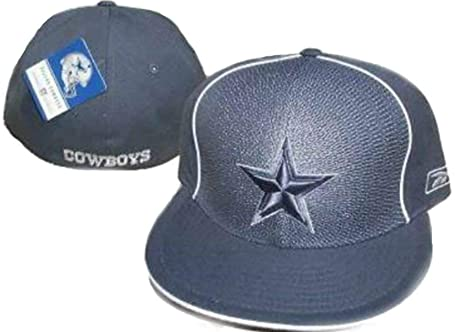 774f7159f Genuine Merchandise Dallas Cowboys Fitted Size 7 Pinwheel Gray Hat Cap