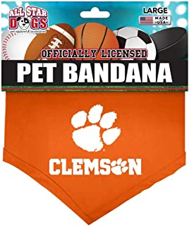 product image for All Star Dogs Clemson Tigers Pet Bandana