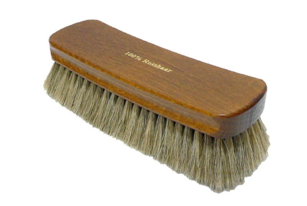 Shoe Polishing Brush | Luxury Shining Brush | Genuine HorseHair | Made in Germany | White Hair by Valentino Garemi (Image #2)