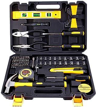 Conjunto de combinación 78 en 1, caja de herramientas de hardware ...
