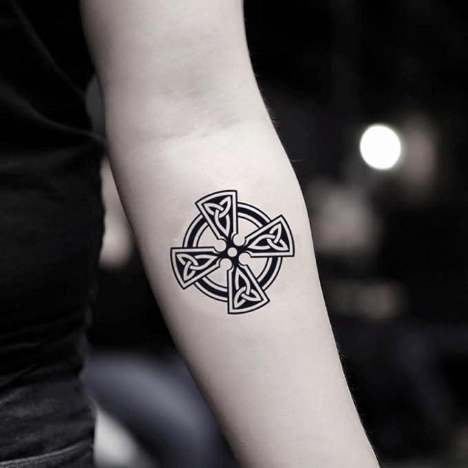 Tatuaje Temporal de Cruz de Malta (2 Piezas) - www.ohmytat.com ...