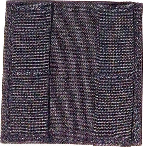Fire Force 8652 PALS Belt Platform Horizontal Adapter for MOLLE Pouches Made in USA (Black) (Adapter Molle)