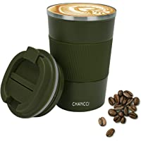 Coffee Travel Mug for Men Women Insulated Coffee Cup Vacuum Tumbler Double Wall Stainless Steel Reusable Thermal Cup…