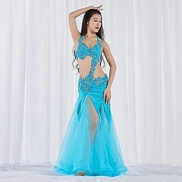 KLMWDDPWY Danza del Vientre Mujer Nueva Danza del Vientre Trajes ...