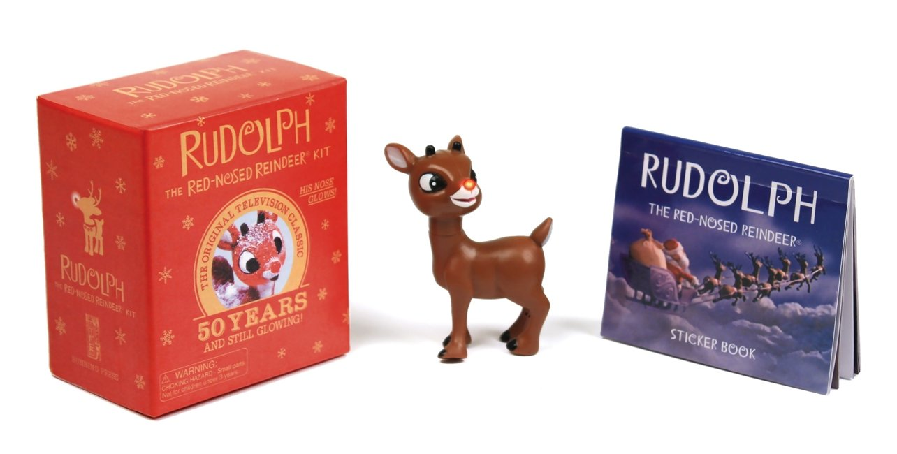 Rudolph The Red-Nosed Reindeer Kit: His Nose Glows! (Miniature Editions) PDF