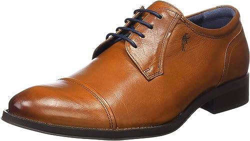 Zapato Vestir Fluchos Heracles 8412 Cuero - 39